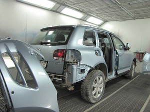 кузовной ремонт VW