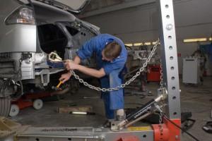 кузовной ремонт land-rover