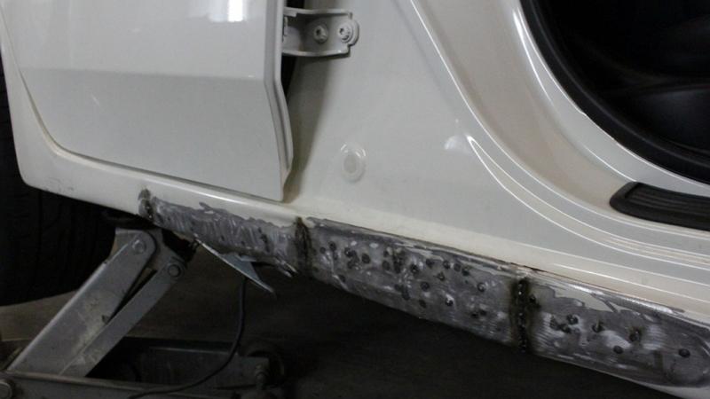 Ремонт порогов автомобиля видео своими руками