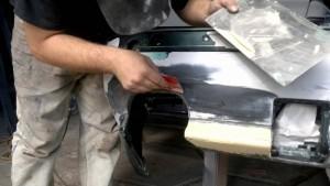 ремонт бампера BMW